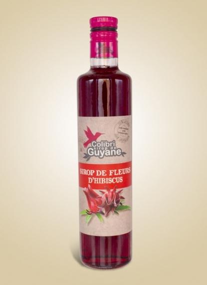 HIBISCUS SABDARIFFA SYRUP (Sirop d'hibiscus)