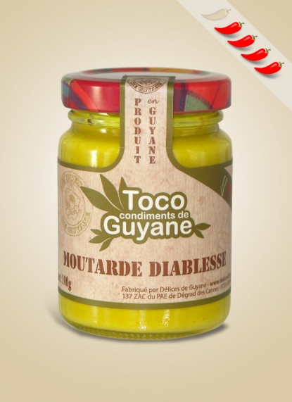 DIABLESSE MUSTARD SAUCE (Moutarde Diablesse)