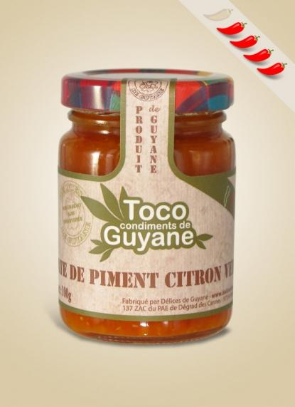 CHILLI-LIME PASTE (Pâte de piment citron vert)