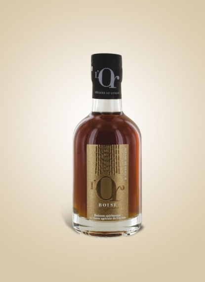 WHITE GOLD RUM 20CL (Or blanc)