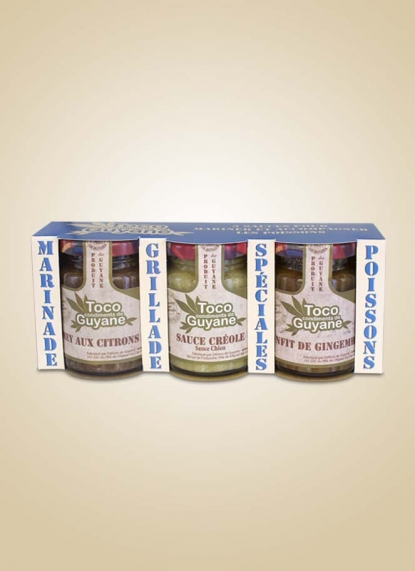 SET OF 3 SAUCES FOR FISH