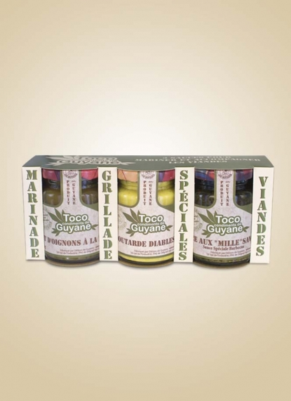 SET OF 3 MEAT SAUCES