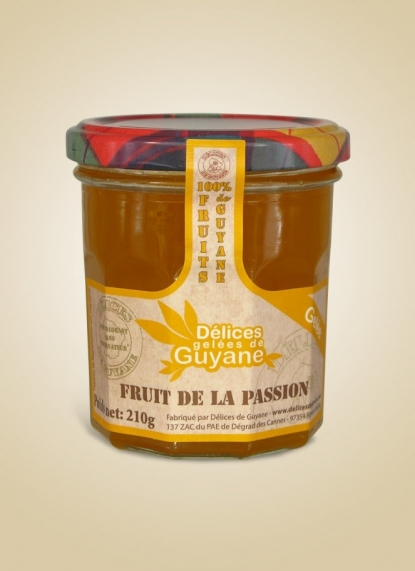 PASSION FRUIT JELLY (Gelée de passion)