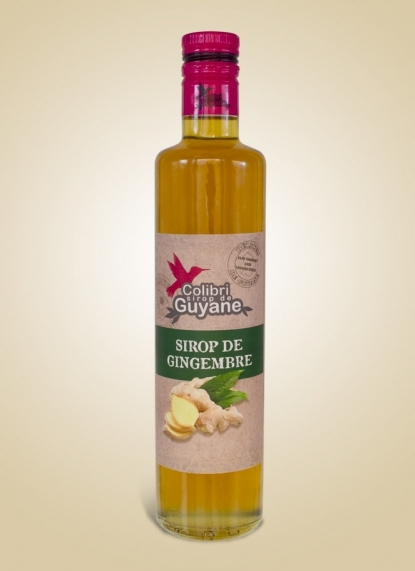 GINGER SYRUP (Sirop Gingembre)