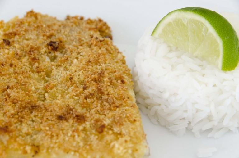 Croquettes de poisson panées au couac