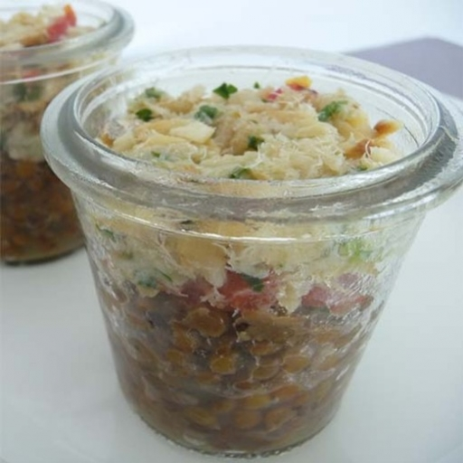 Salade ou chiquetaille de morue
