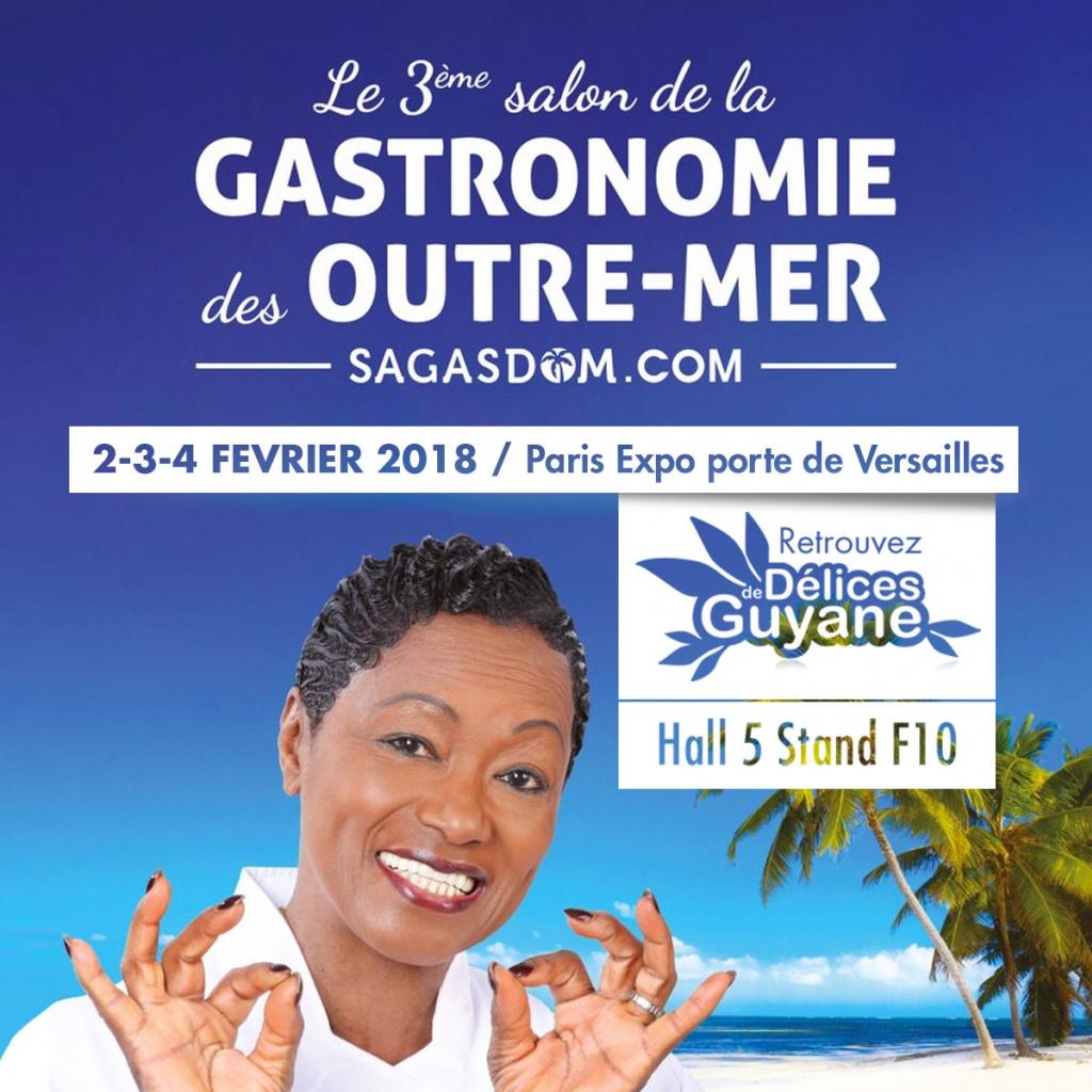 Salon de la Gastronomie des Outre-mer 2018