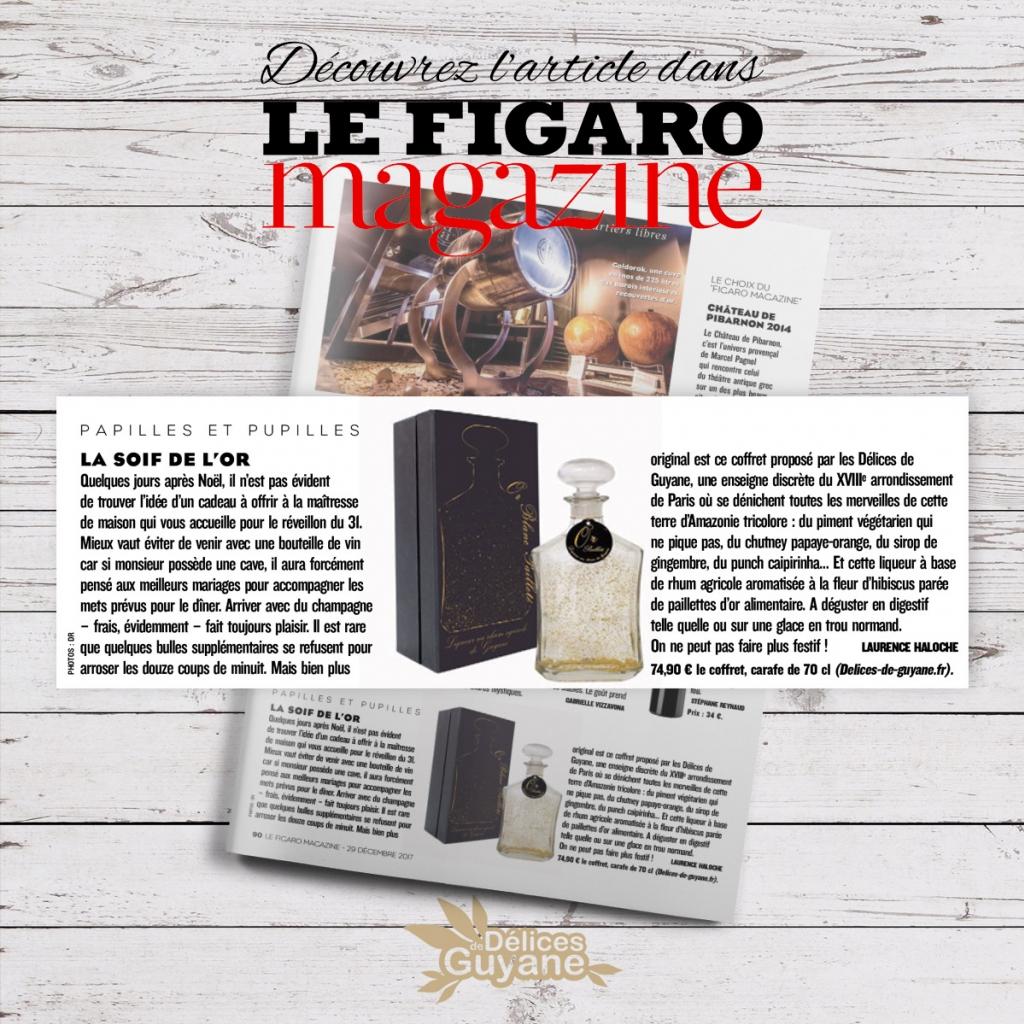 Délices de Guyane dans Le Figaro Magazine