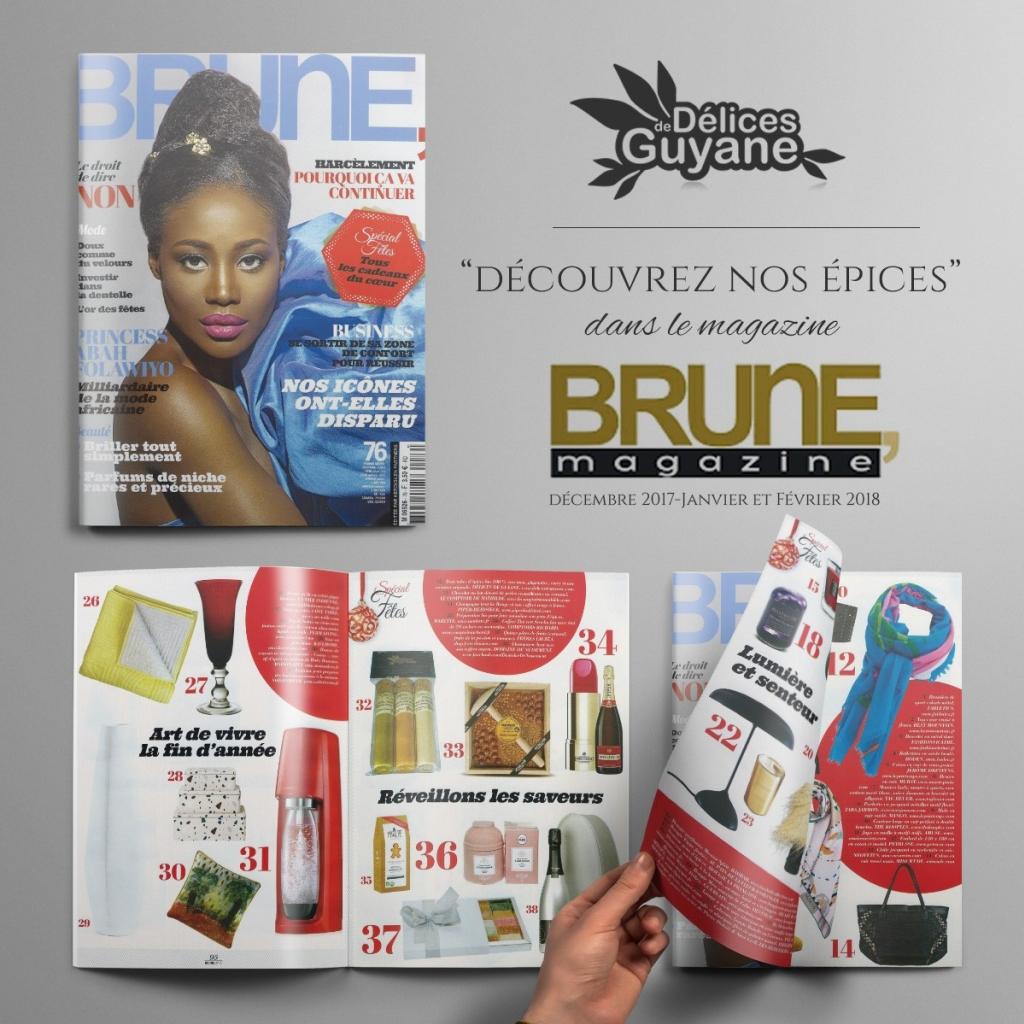 Magazine BRUNE mars 2018