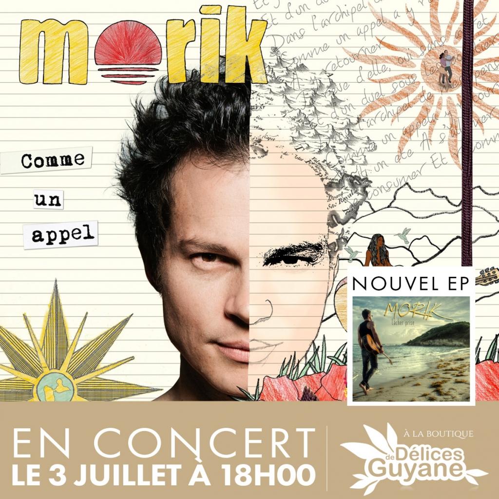 Concert de Morik le 3 juillet